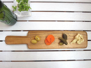 Limpid serving tray (TEAK) CU122