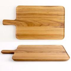Limpid serving tray (TEAK) CU126