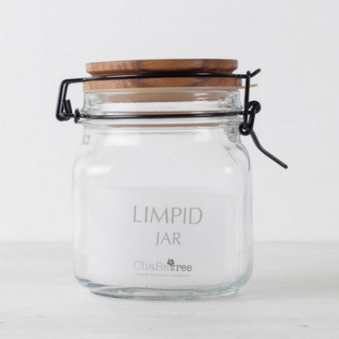 ChaBatree DIMPLE GLASS JAR 750 CC.