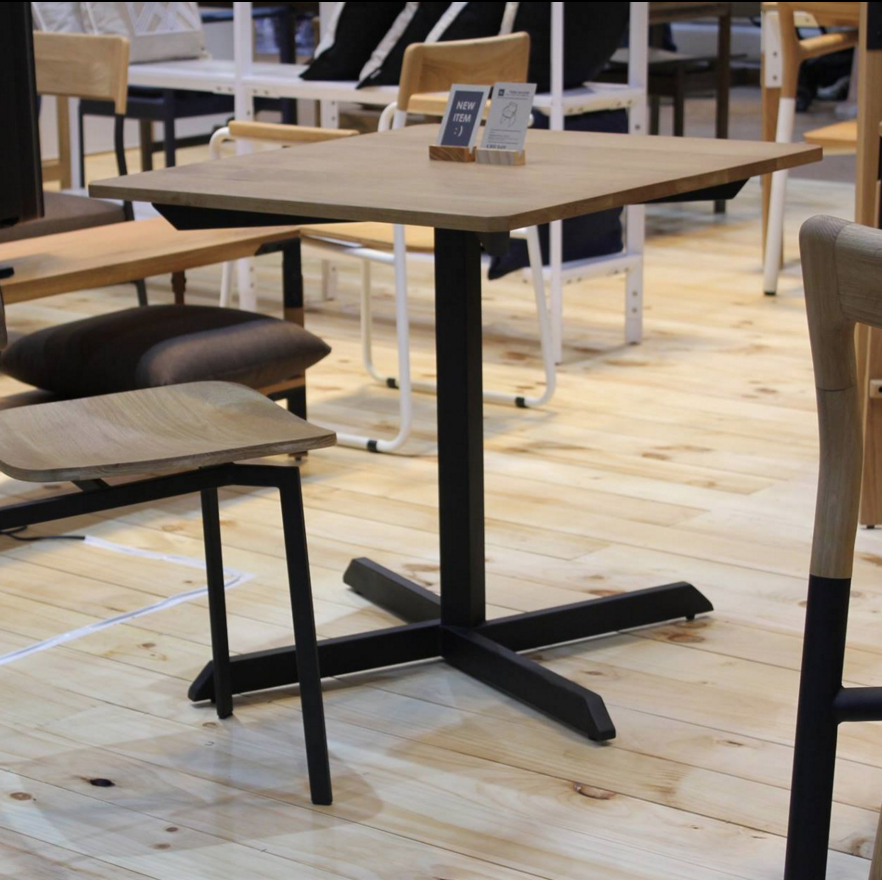 Angle Cafe Table