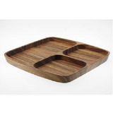 ChaBatree Limpid Square Tray with Hole