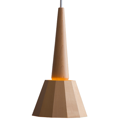 moare - tipo Pendant Light (Maple Base)