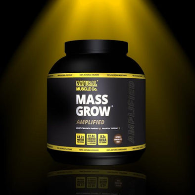 Mass Grow Protein- Natural Muscle Company