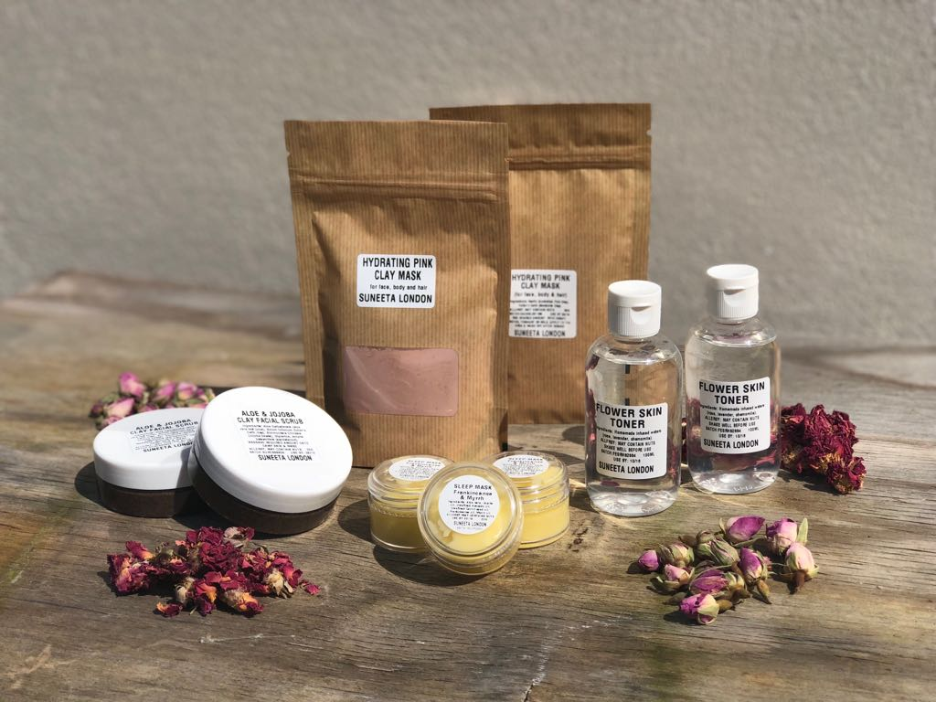suneeta London, cosmetics zero waste skincare natural vegan