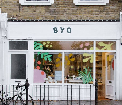 zero waste store London vegan