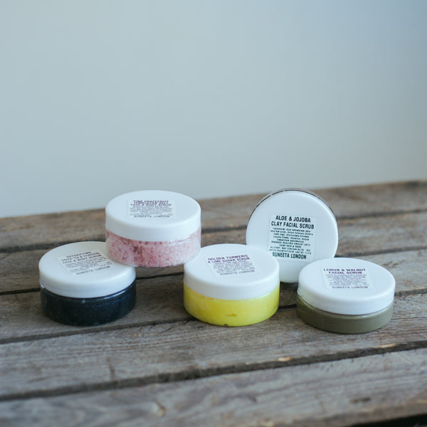 face body scrub sampler pack