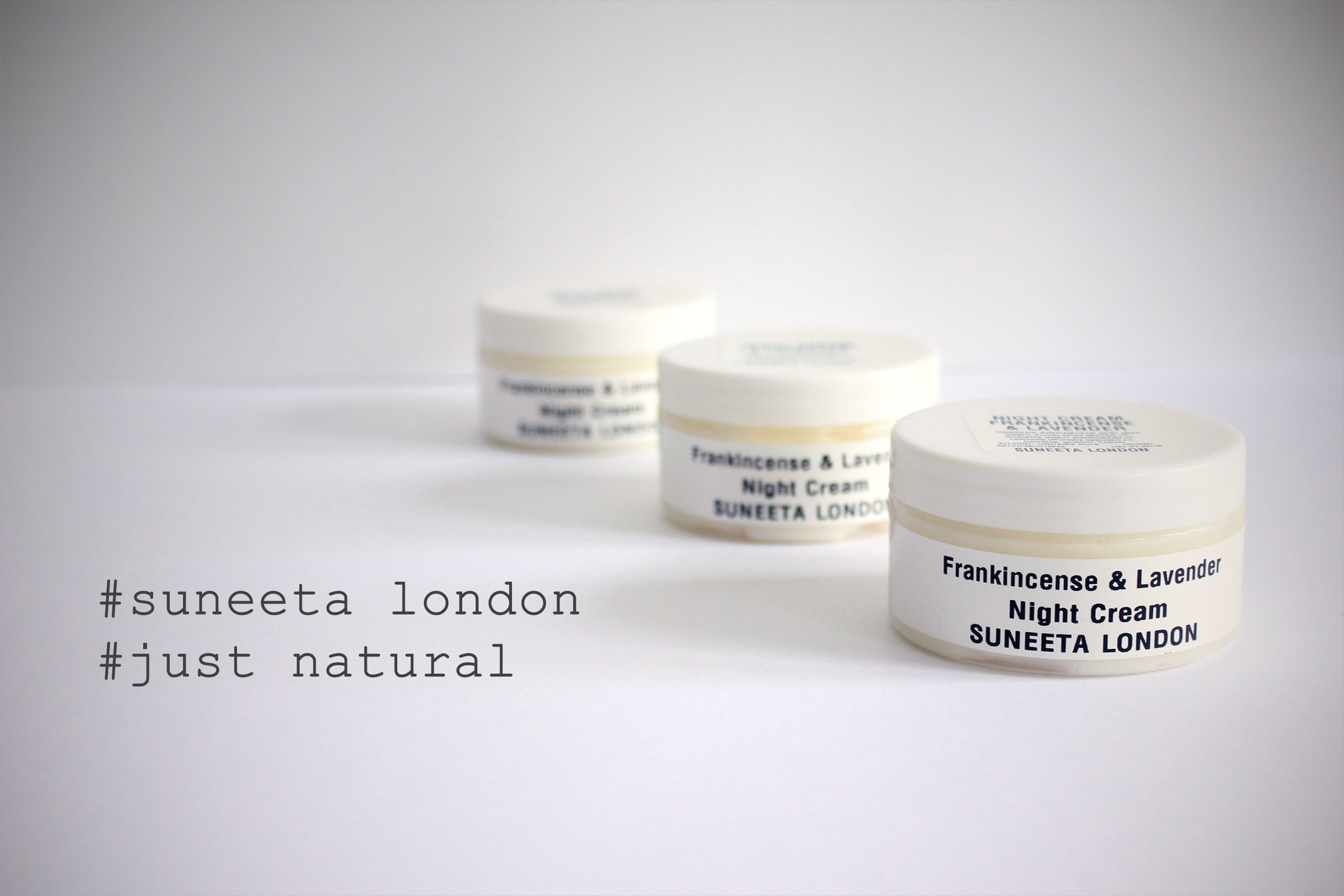 Just Natural, Suneeta Cosmetics, Night Cream, Frankincense, Lavender, Shea Butter, Almond Oil