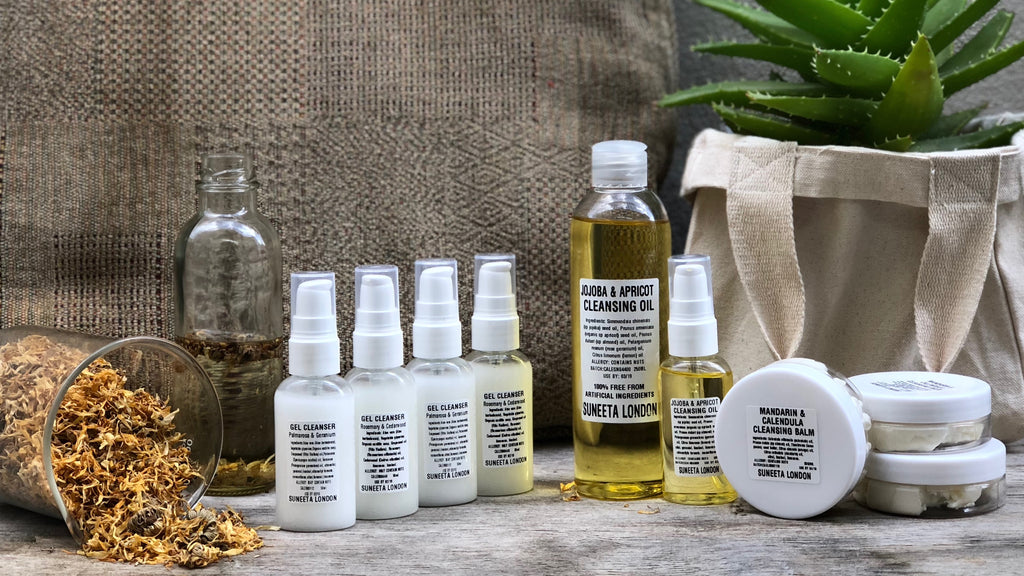 suneeta cosmetics oil cleansing method ocm natural handmade london