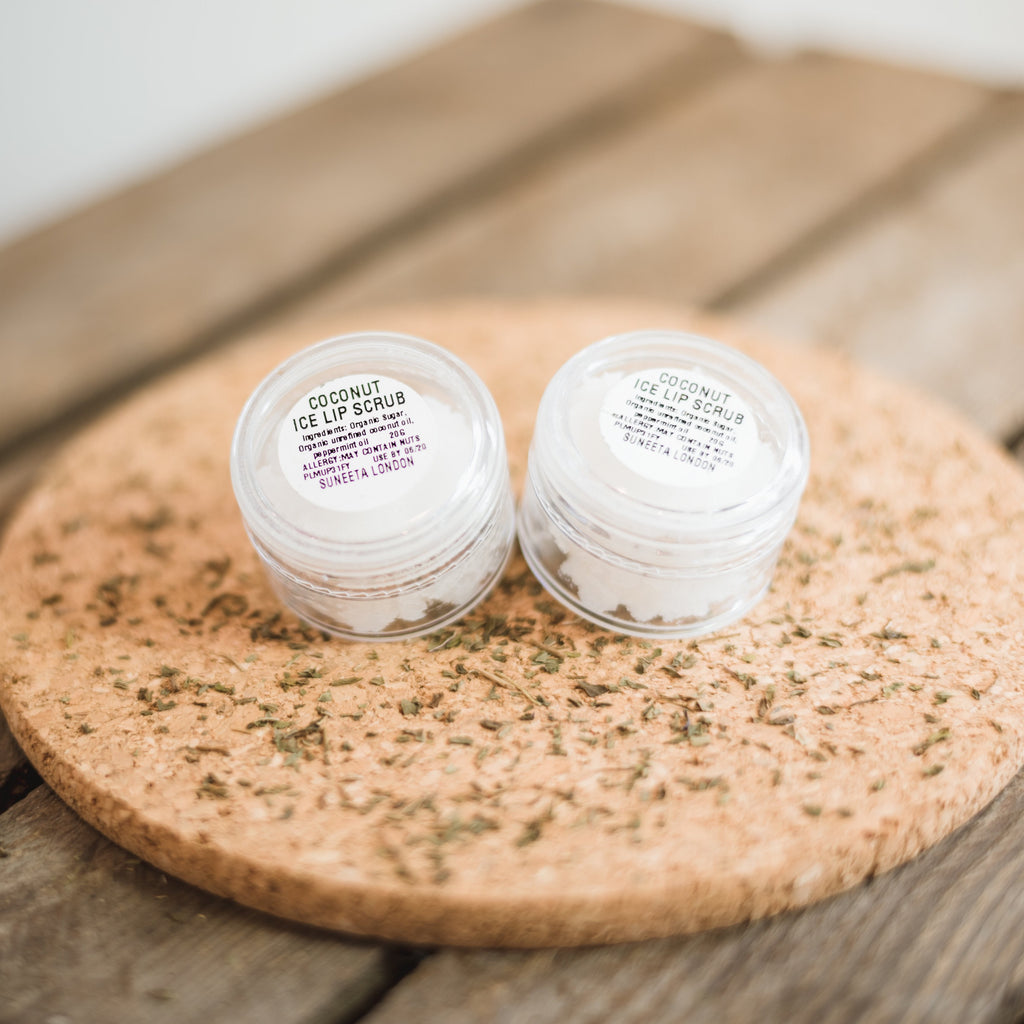 Coconut Ice Lip Scrub