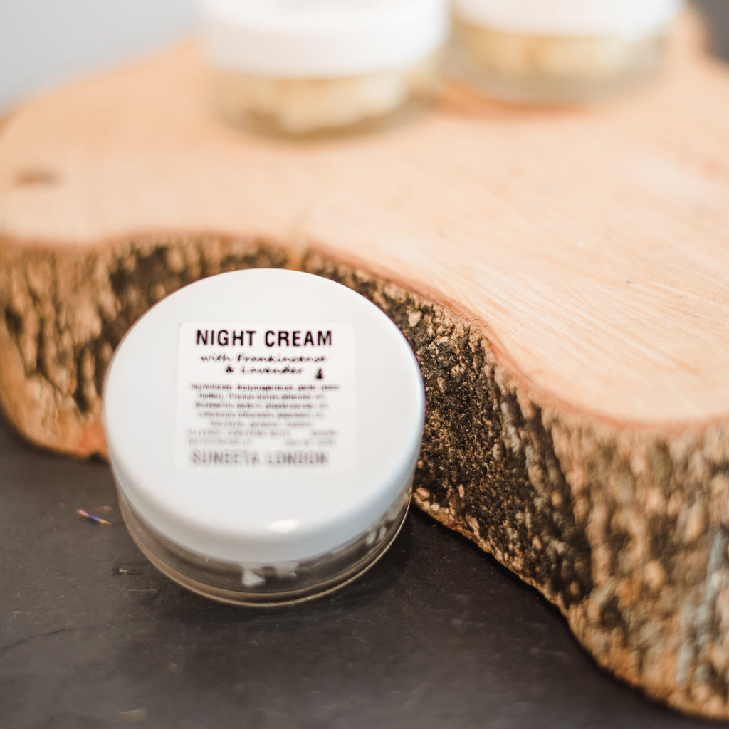 Night Cream with Frankincense and Lavender