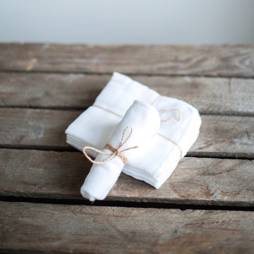 Organic Cotton Muslin Cloths