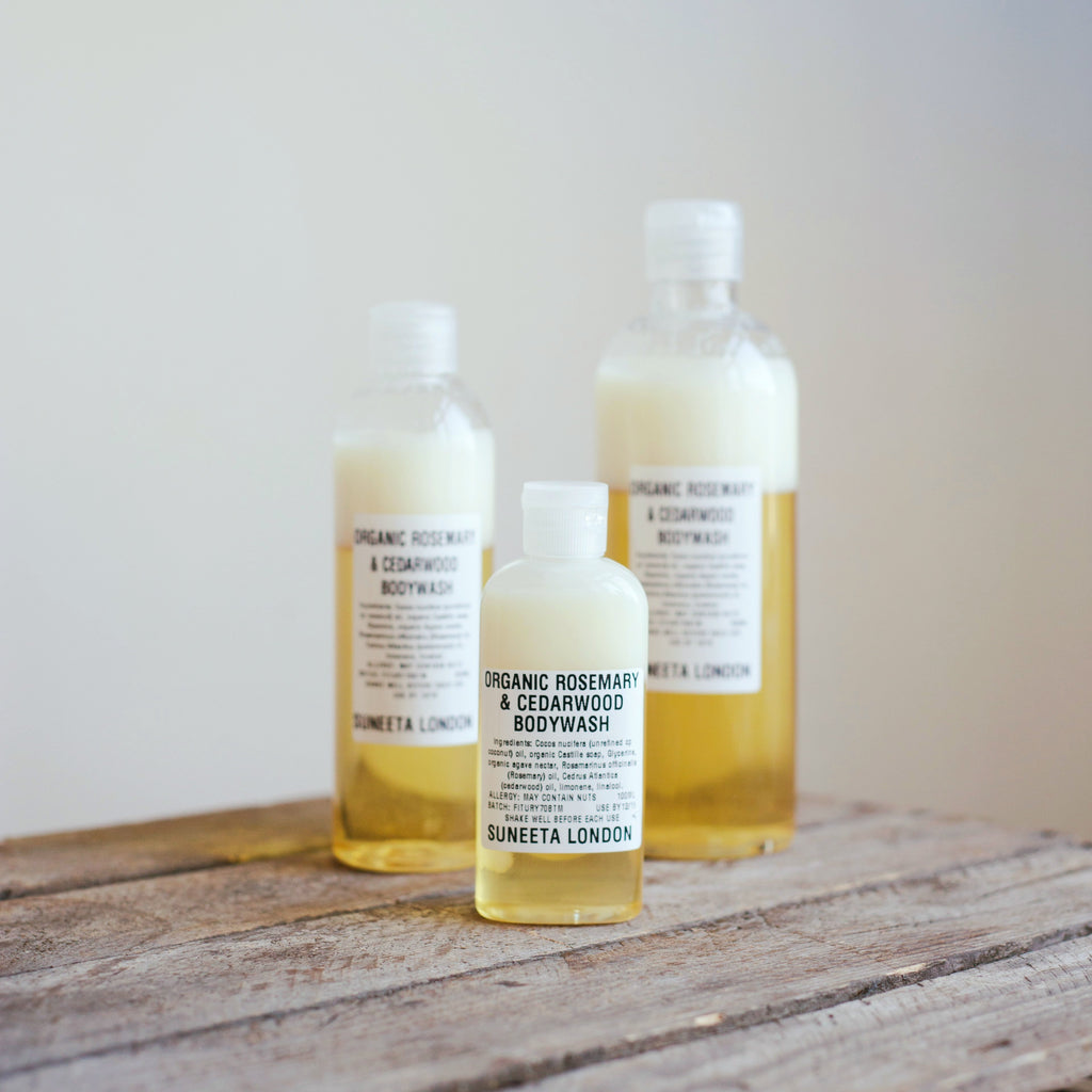 Organic Rosemary and Cedarwood Bodywash