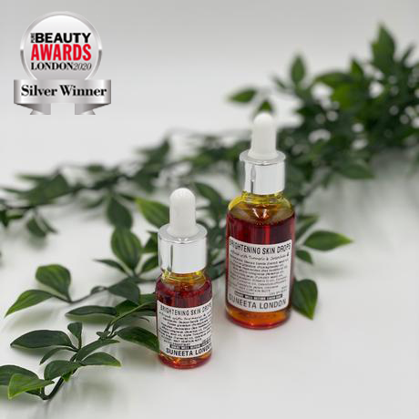 beauty bright drops, skin elixir, face elixir, facial elixir, skin drops, brightening skin drops, face oil facial oil, face serum, facial serum, vitamin c oil, vitamin c serum, turmeric serum, turmeric oil, beauty award, bestseller, best selling, beauty must have, beauty essential, suneeta, suneeta London, suneeta cosmetics
