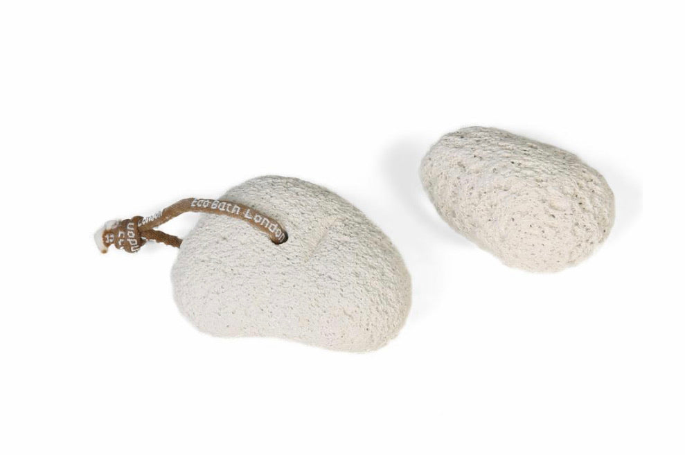 Natural Smooth Pumice Stone on a Rope