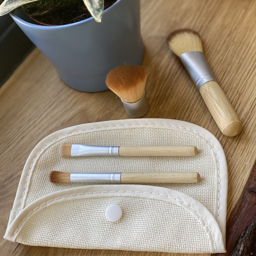 Bamboo Make-Up Brush Set