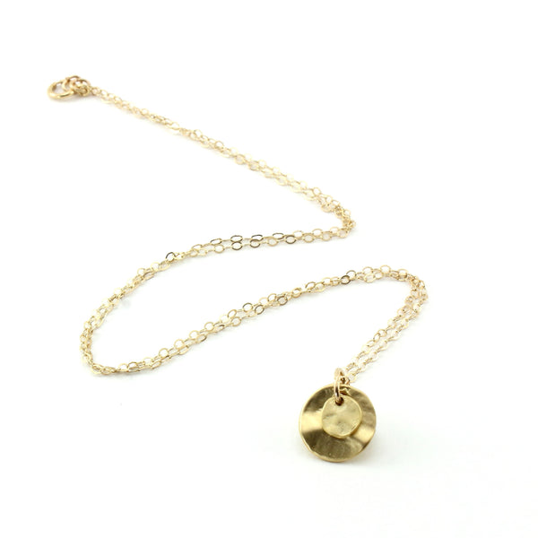 Layered Round Necklace - Small