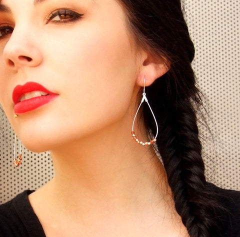 Anjou Teardrop Earrings