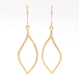 Asymmetrical Teardrop Earrings