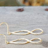 Infinity Figure Eight Earrings
