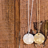 Layered Round Necklace - Large