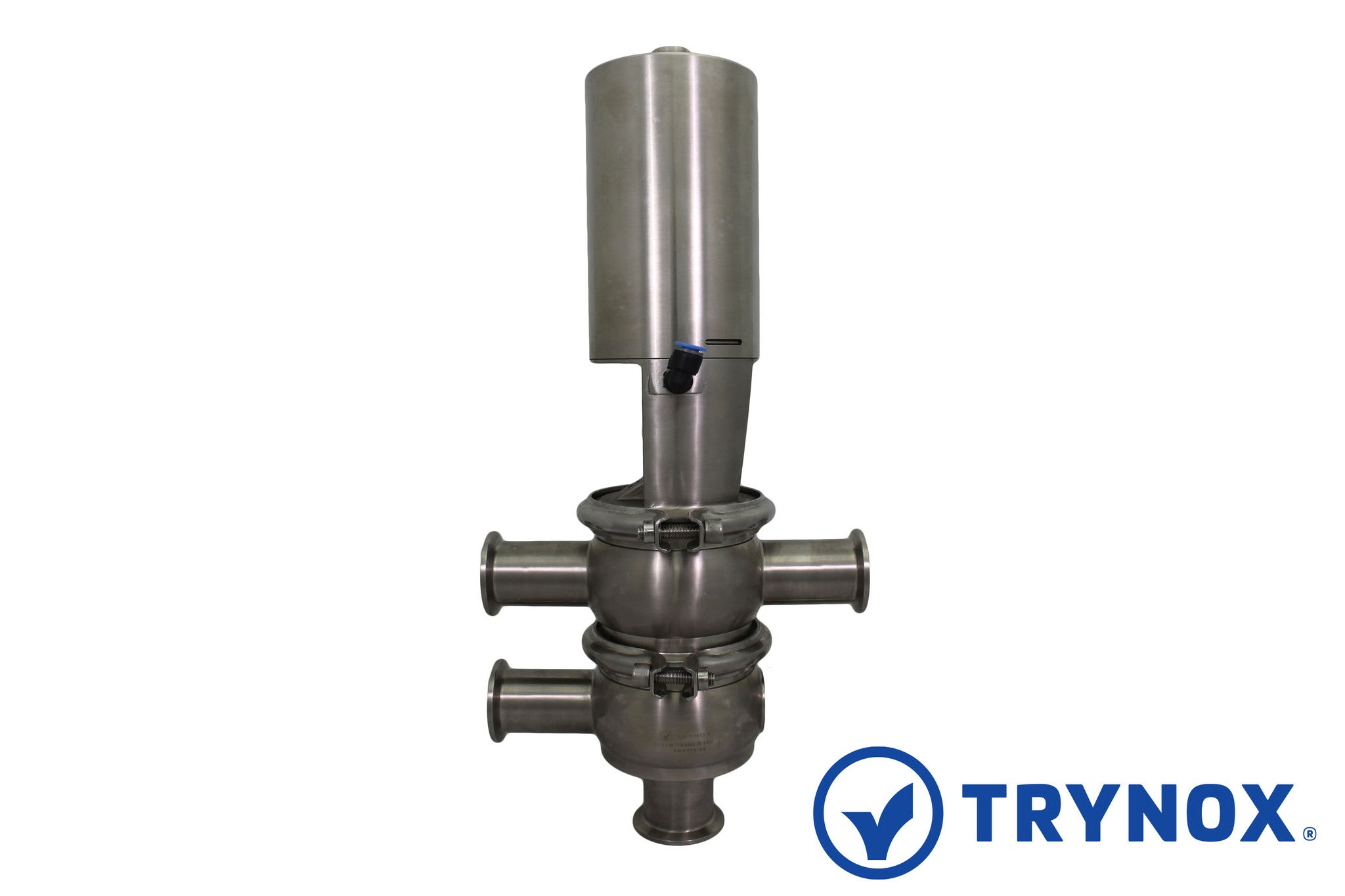 Trynox Clamp Sanitary Stainless Steel Butterfly Valve EPDM Seal 316L 1 Tri clamp Sanitary Fitting