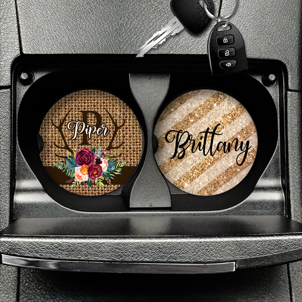 Car Coasters Set of 2