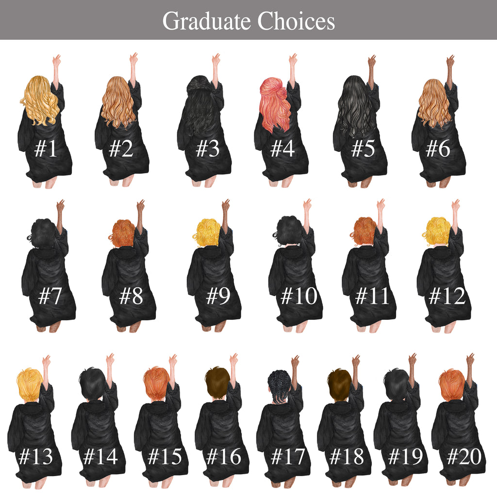 Graduation Plush Sherpa Fleece Blankets
