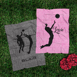 Plush Fleece Sporty Blankets