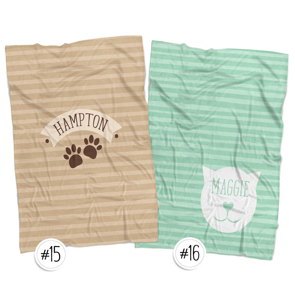 Personalized Pet Blankets