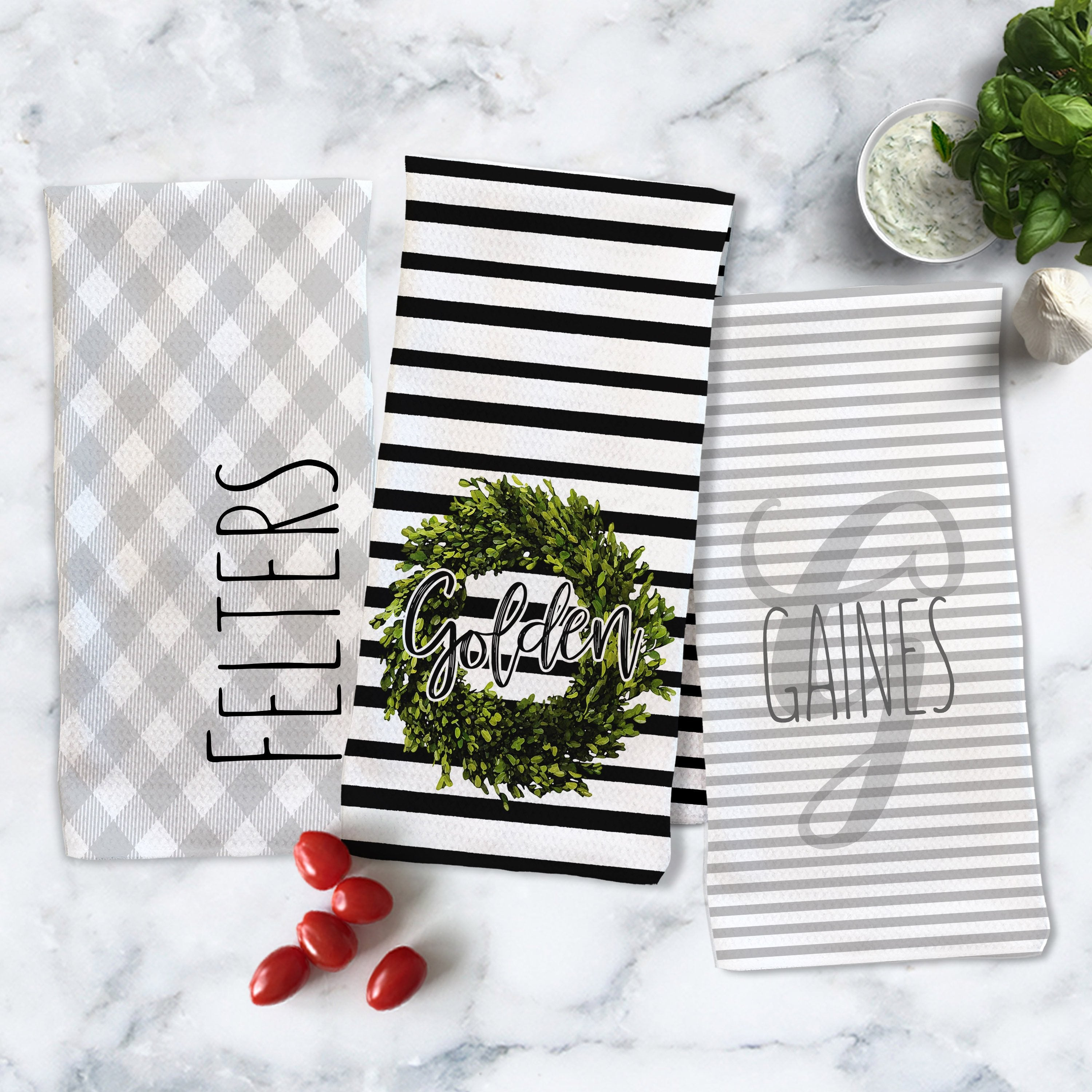 Personalized Kitchen Towels