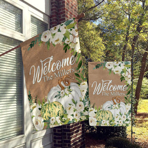 Personalized Welcome Flags