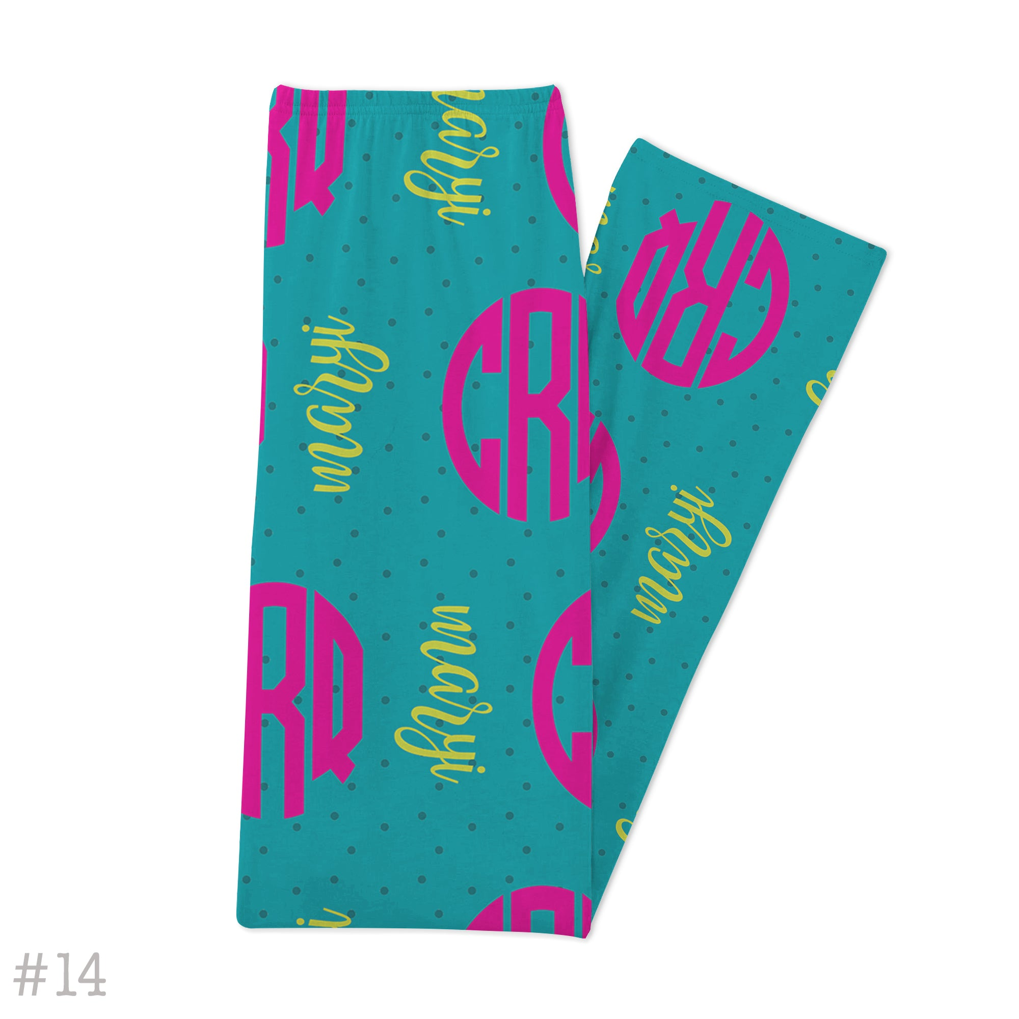 Pajama Lounge Pants, Youth-Boutique Monogram-Boutique Monogram