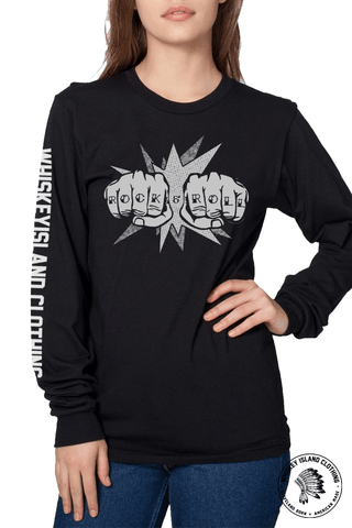 Rock + Roll - Unisex Long Sleeve - Whiskey Island Clothing