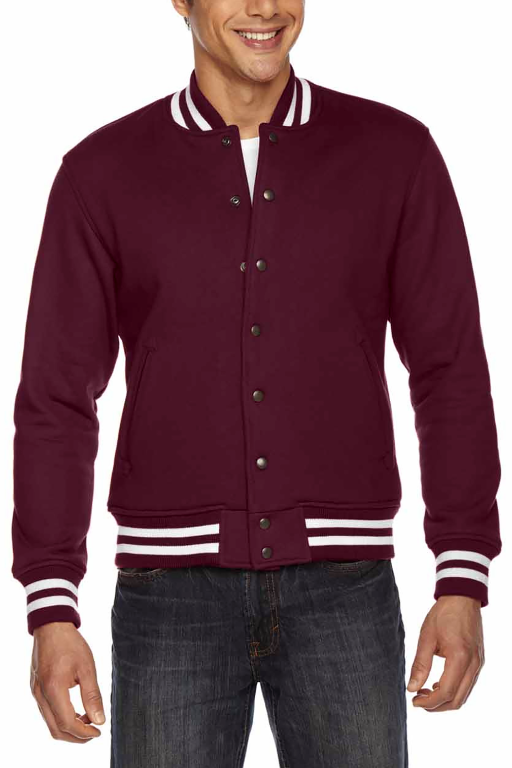Cleveland City of Champions - Varsity Club Jacket - Whiskey Island Clothing
