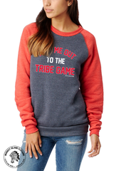 Tribe Game Unisex Eco Fleece Pullover - Whiskey Island Clothing