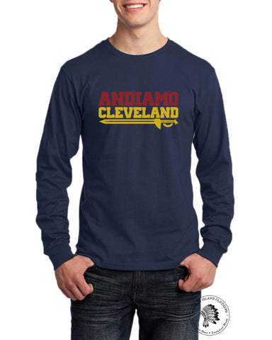 Andiamo Cleveland Unisex Long Sleeve - Whiskey Island Clothing