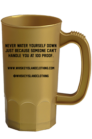 Whiskey Island Party Mug - Gold - Whiskey Island Clothing