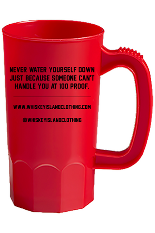 Whiskey Island Party Mug - Red - Whiskey Island Clothing