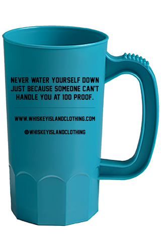 Whiskey Island Party Mug - Teal Blue - Whiskey Island Clothing