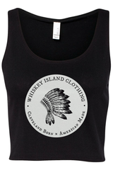 Whiskey Island Classic Crop Tank - Whiskey Island Clothing