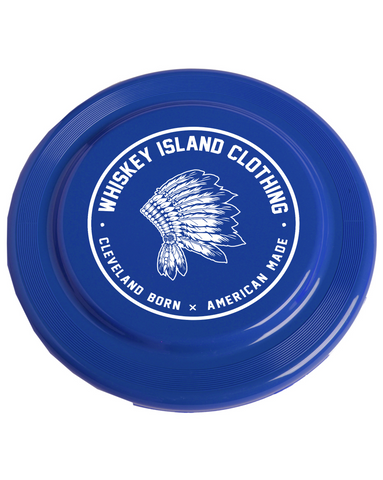 Whiskey Island Frisbee - Blue - Whiskey Island Clothing