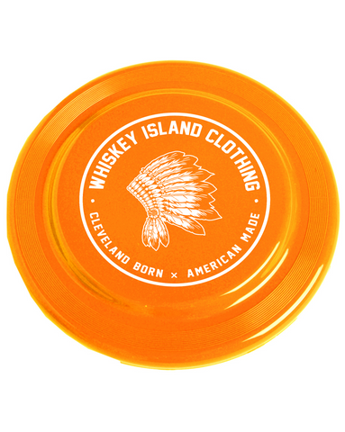 Whiskey Island Frisbee - Orange - Whiskey Island Clothing