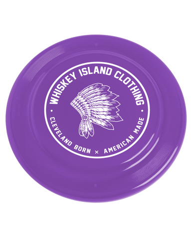 Whiskey Island Purple Frisbee - Whiskey Island Clothing