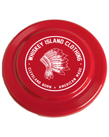 Whiskey Island Frisbee - Red - Whiskey Island Clothing