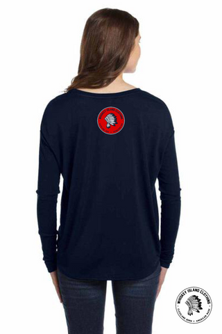 Legends Never Die Flowy Long Sleeve - Whiskey Island Clothing