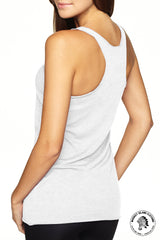 Little Italy Cleveland - Racerback - Heather White - Whiskey Island Clothing