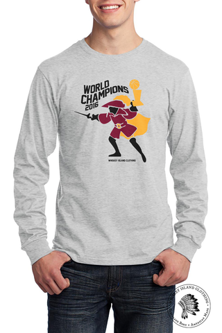 Cavalier Champions - Unisex Long Sleeve - Whiskey Island Clothing