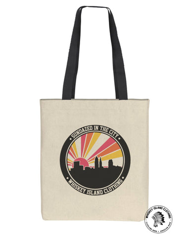 Sundazed In The City CLE Canvas Bag - Whiskey Island Clothing