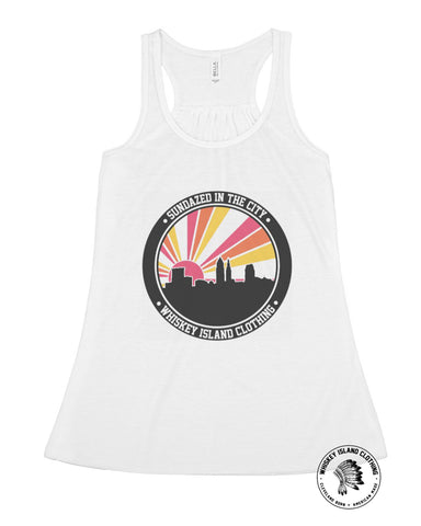 Sundazed In The City Flowy Racerback - Whiskey Island Clothing
