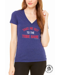 Tribe Game Women's Deep V - Whiskey Island Clothing